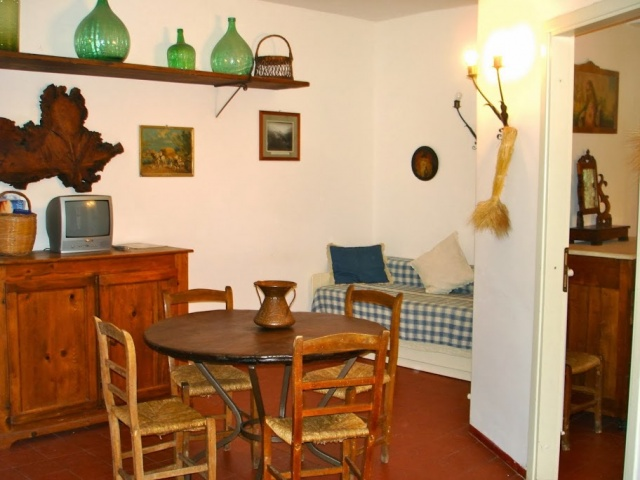 Abruzzo Vakanties Agriturismo Appartement ABV0120F Woonkeuken