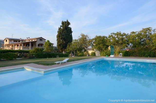 Abruzzo Agriturismo Met Zwembad ABV0140