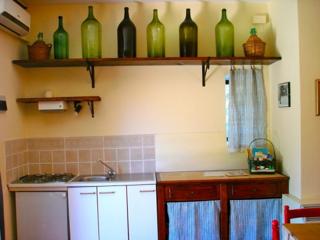 Abruzzo Agriturismo Vakantie Appartement ABV0120E Keuken