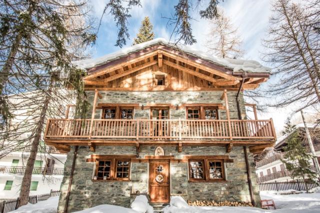 Aostadal Valtournenche Luxe Skichalet 1