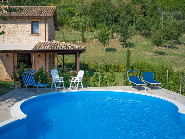 Appartement Zwembad Le Marche 6