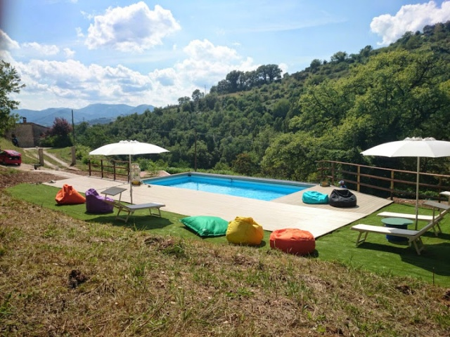 Appartement Voor 4p Met Zwembad Bij Fabriano 41