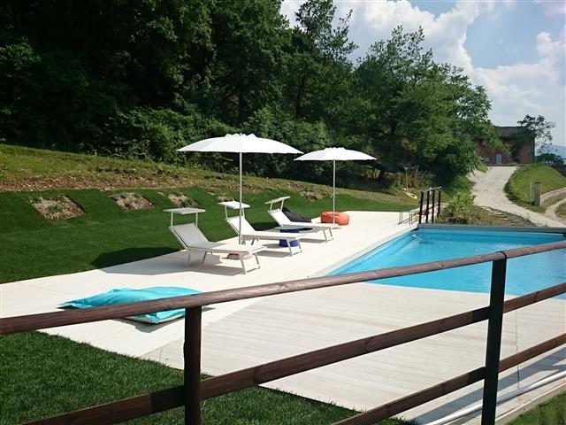 Appartement Voor 4p Met Zwembad Bij Fabriano 45