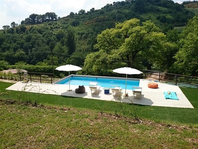 Appartement Voor 4p Met Zwembad Bij Fabriano 47