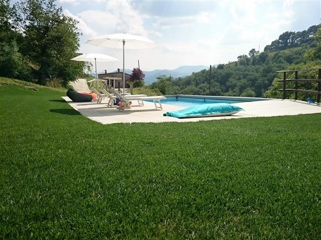 Appartement Voor 4p Met Zwembad Bij Fabriano 50