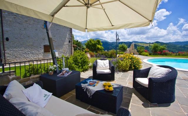 Appartementen Met Zwembad Bij Apecchio Le Marche 1