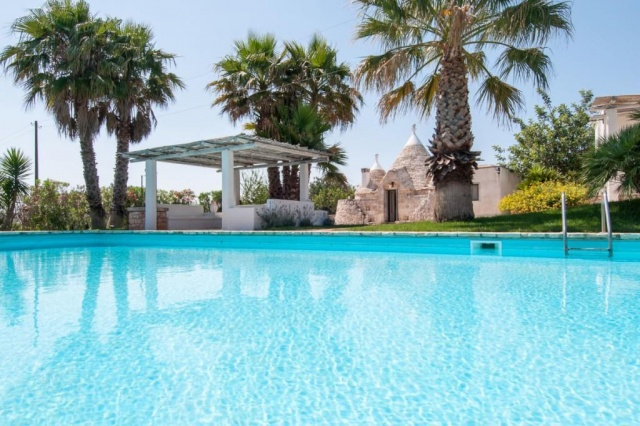 Authentieke Trullo 10p Pool Puglia 1