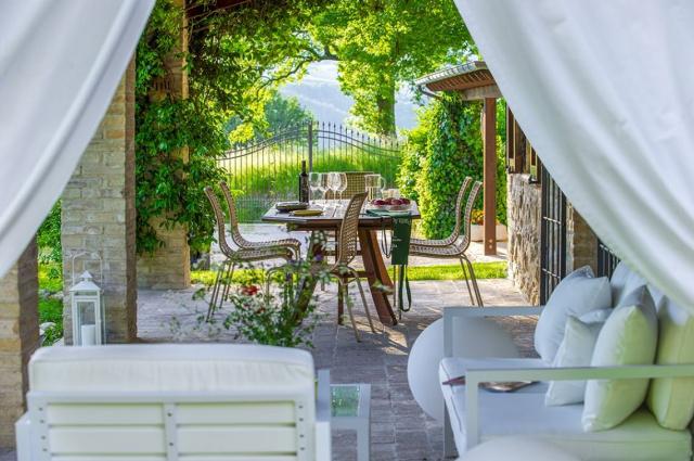 Fermignano Le Marche Luxe Villa Zwembad 7