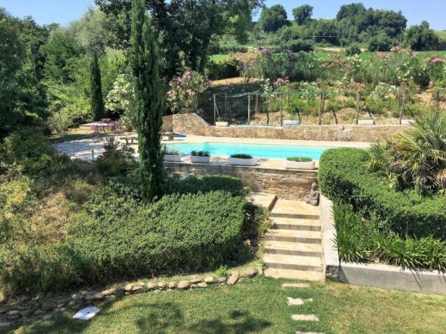 Le Marche Barchi, Luxe Vrijstaande Villa Zwembad Mooie Uitzichten 8