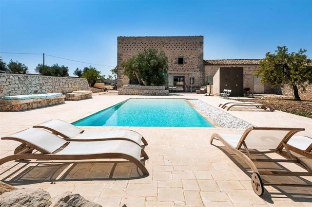 Luxe Villa Groot Zwembad Siracusa 1