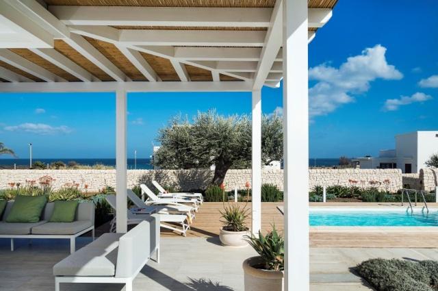 Moderne Villa Aan Strand Puglia 1h