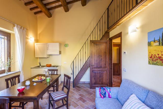 Noord Le Marche Urbino Villa LMV2310A Woonkeuken