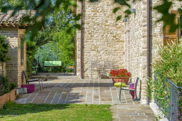 Noord Le Marche Urbino Villa LMV2310B Terras