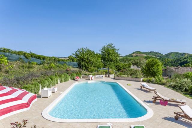 Noord Le Marche Urbino Villa Zwembad 2