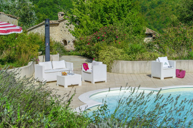 Noord Le Marche Urbino Villa Zwembad 5