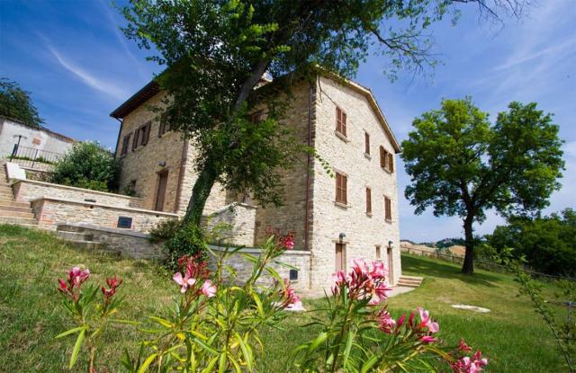 Noord Le Marche Urbino Villa Zwembad 9