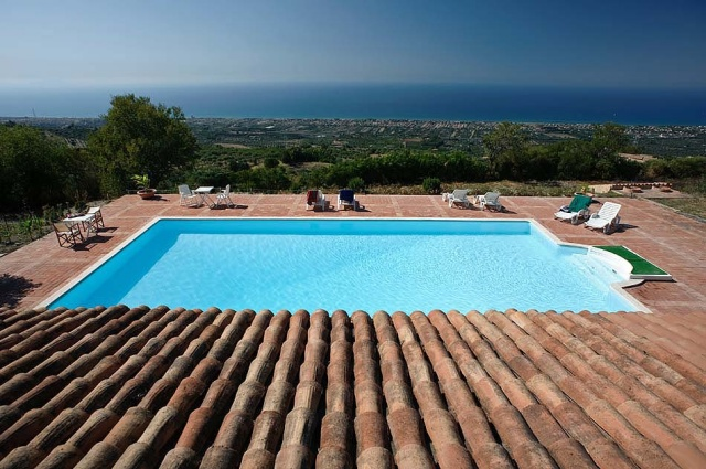 Noord Sicilie Vakantie Appartementen Met Zeezicht En Groot Zwembad 2