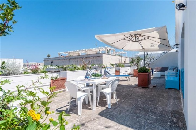Penthouse Appartement Voor 6p Monopoli Puglia 15