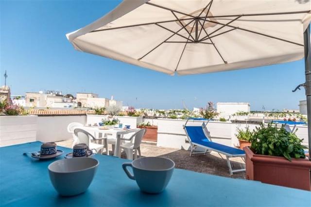 Penthouse Appartement Voor 6p Monopoli Puglia 44