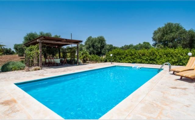 Prachtige Trullo In Puglia Zwembad 1