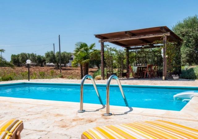 Prachtige Trullo In Puglia Zwembad 12