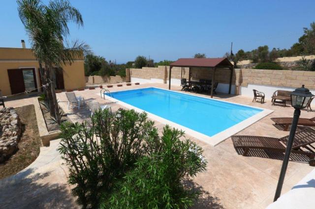 Puglia Gallipoli Vakantievilla Met Zwembad En Zeezicht 28