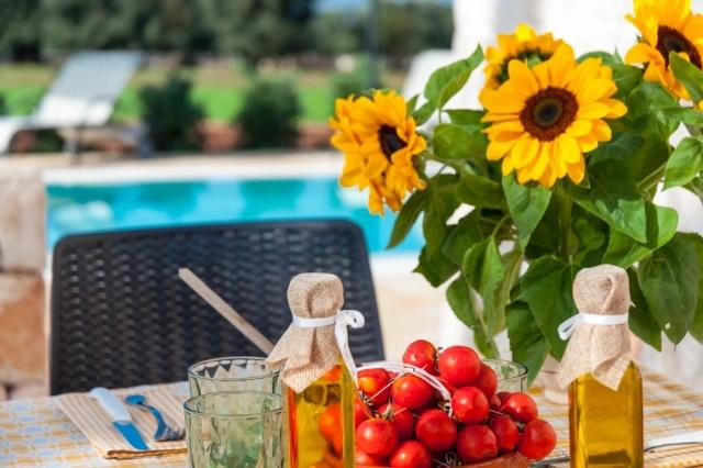 Puglia Vakantie Trullo Prive Zwembad Nabij Kust 11