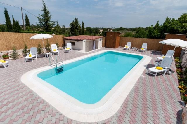 Puglia Villa Met Zwembad Bij Noci 13