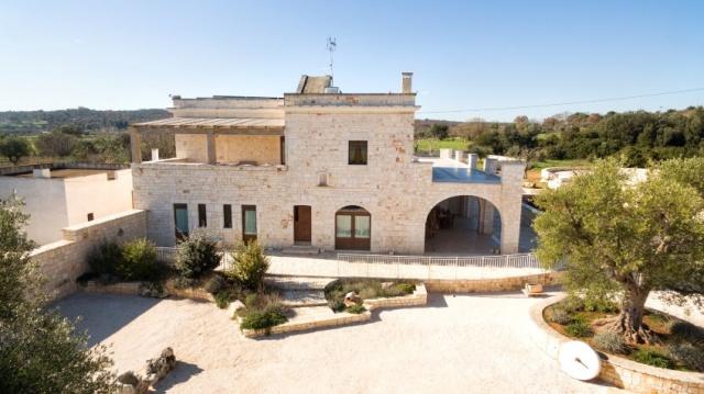 Puglia Villa Prive Zwembad Ceglie 11