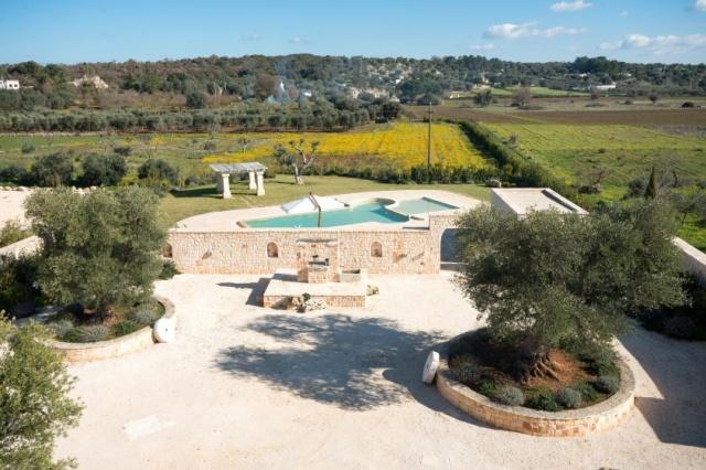Puglia Villa Prive Zwembad Ceglie 4