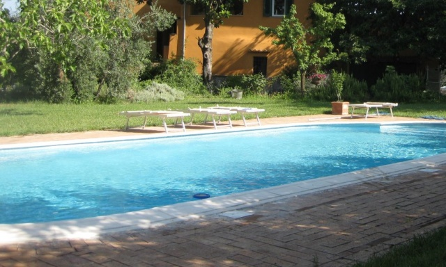 Rome Tivoli Villa Voor 5 Zwembad 3