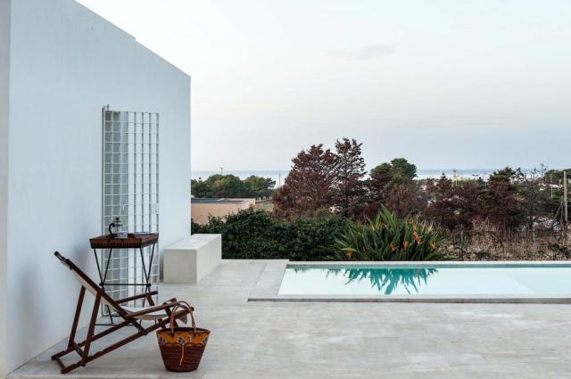 Sicilie Trapani Moderne Villa Zwembad 8