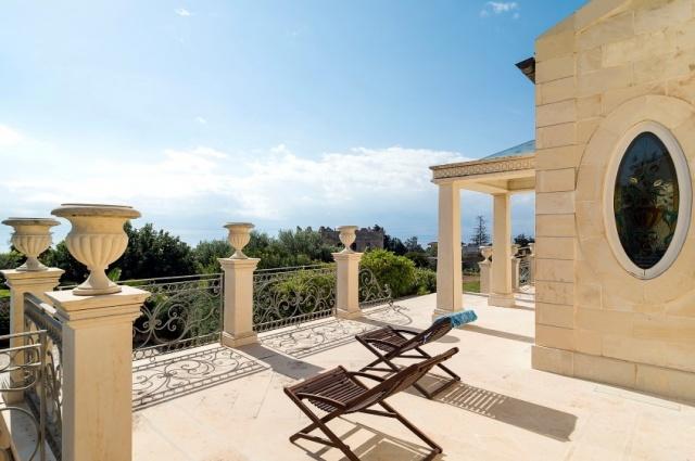 Sicilie Luxe Villa Zwembad Uitzicht Op Zee 1