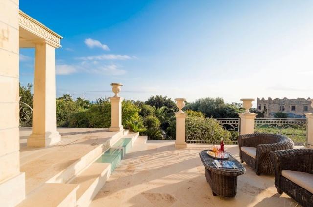Sicilie Luxe Villa Zwembad Uitzicht Op Zee 3