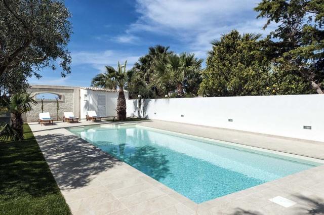 Sicilie Marsala Vakantieappartemet Strand Locatie Met Zwembad 3
