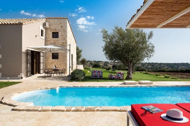 Sicilie Moderne Vakantie Villa Met Prive Zwembad Ragusa 40