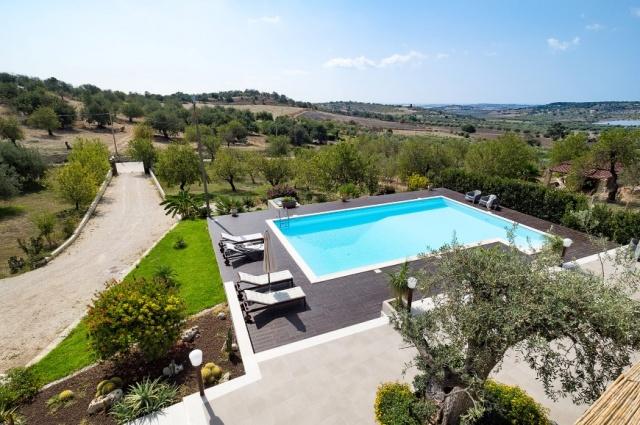 Sicilie Moderne Villa Met Groot Zwembad 10
