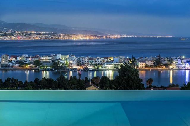 Sicilie Vakantievilla Met Zee Zicht En Infiniti Pool Messina 2
