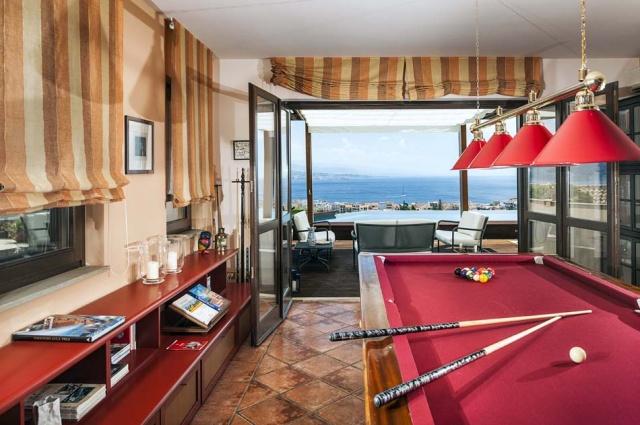 Sicilie Vakantievilla Met Zee Zicht En Infiniti Pool Messina 26