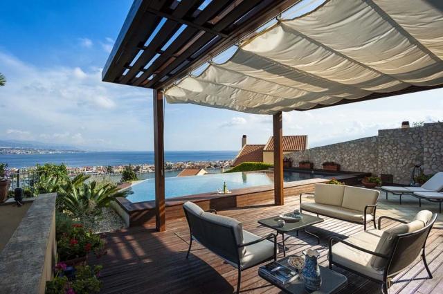 Sicilie Vakantievilla Met Zee Zicht En Infiniti Pool Messina 28