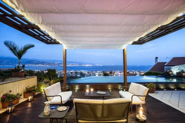 Sicilie Vakantievilla Met Zee Zicht En Infiniti Pool Messina 3