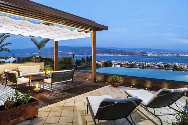 Sicilie Vakantievilla Met Zee Zicht En Infiniti Pool Messina 4
