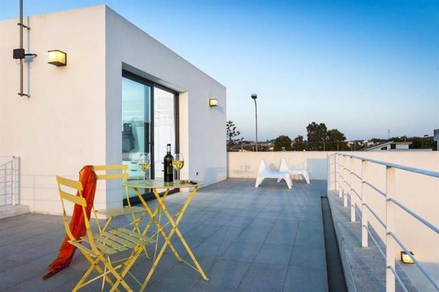 Strak Moderne Villa Vlakbij Strand Sicilie 9