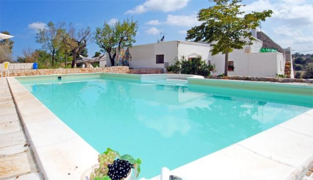 Trullo Voor 13p Met Pool In Puglia 1