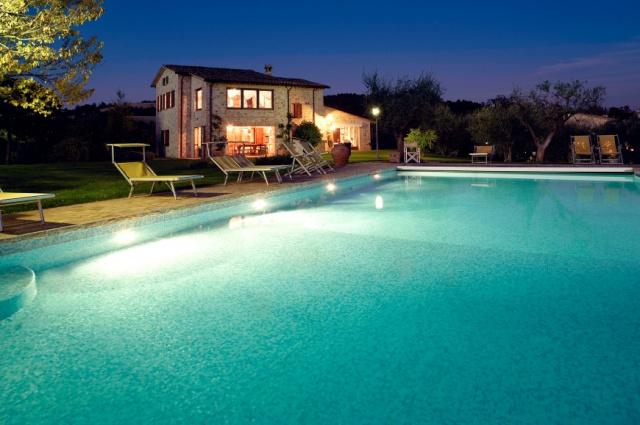 Umbrie Todi Villa Op Landgoed Zwembad 1