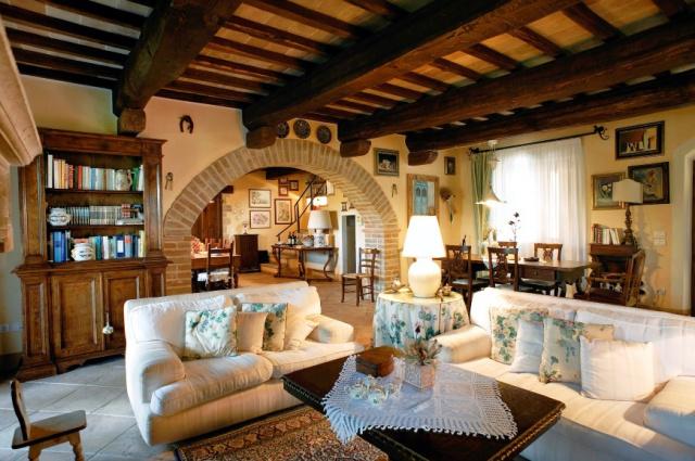 Umbrie Todi Villa Op Landgoed Zwembad 21
