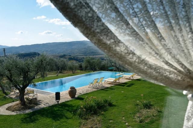 Umbrie Todi Villa Op Landgoed Zwembad 5