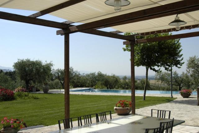 Umbrie Todi Villa Op Landgoed Zwembad 9