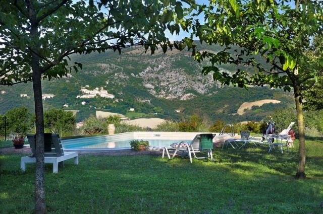 Vakantie Villa Le Marche Zwembad 21
