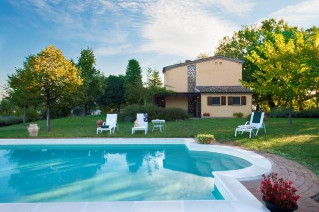 Vakantie Villa Le Marche Zwembad 22